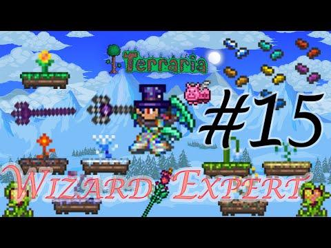 Terraria Wizard บทที่ 15 ตัวเดียวก็ตกได้ด้วยหรอ ทำฟาร์มสมุนไพรเลยดีกว่า