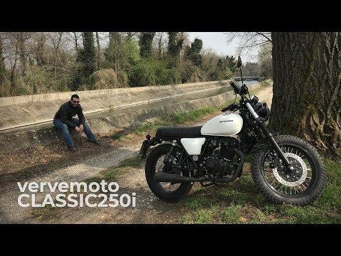 VERVE MOTO CLASSIC S 250 - una brat style a pochi euro