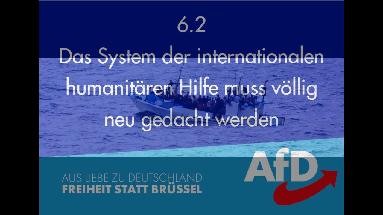 europawahlen wahlprogramm