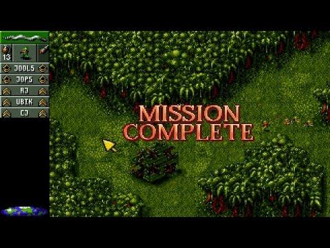 Cannon Fodder (PC/DOS) 1993, Virgin interactive, Sensible software
