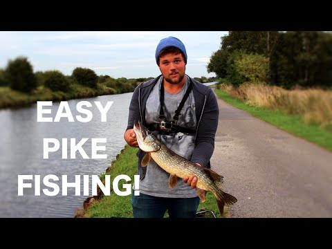 The EASIEST way to catch pike on lures!! UK Lure fishing How To