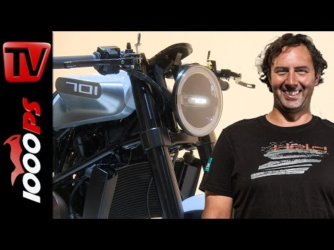 Husqvarna Neuheiten 2017 - VITPILEN 701 | Vaulis Motorrad Neuheiten