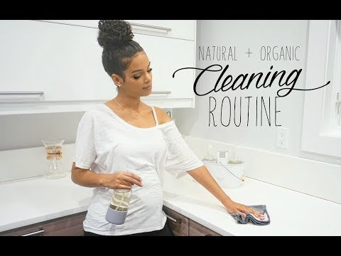 CLEAN WITH ME! // Natural Home Cleaning Routine