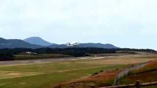 萩、石見空港から離陸しま〜す⤴️