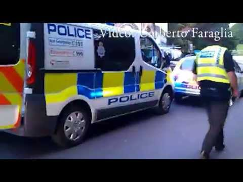 North yorkshire police make an arrest schooting video Umberto Faraglia