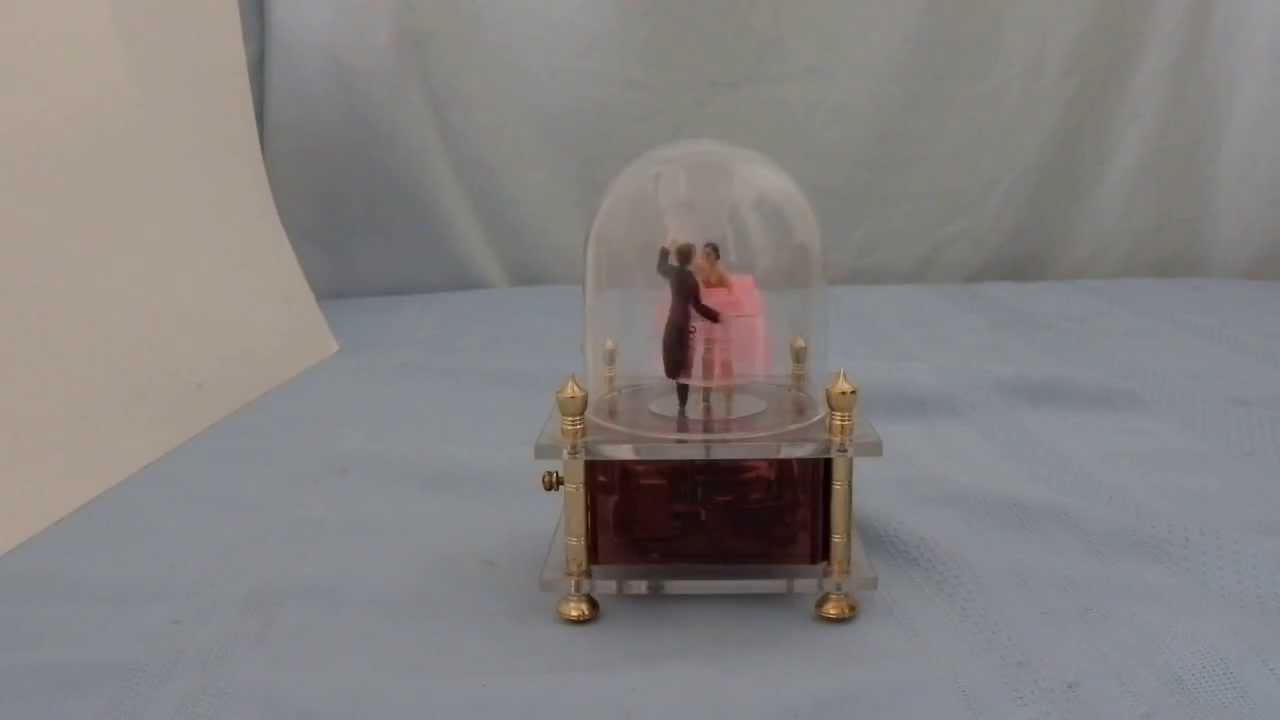 As Time Goes By Casablanca Handcrank Music Box
