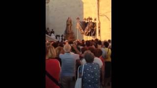 Madonna di Corsignano 2014 - Uscita dalla Concattedrale con contestazione