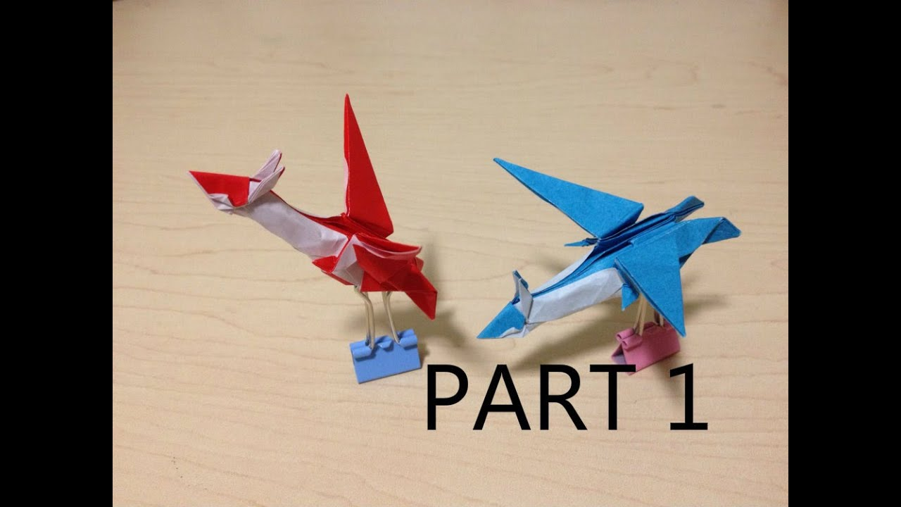 Tutorial Origami Latioslatias Part 1 Youtube