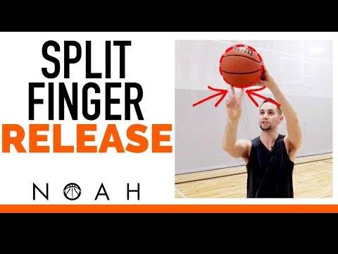 Get the Perfect Split Finger Shooting Release: Noah Basketball