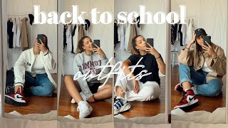 Back To School Outfits (but make it thrifted) // ft. Ninety Percent, Nudie Jeans, Tala and more
