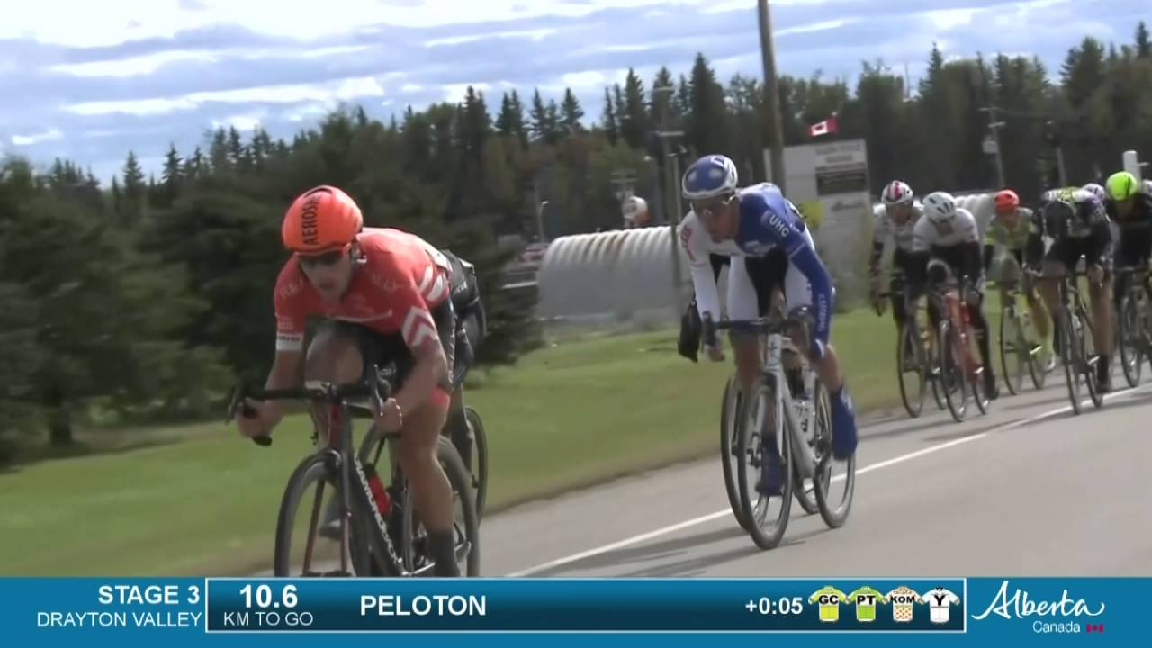 Tour of Alberta: Stage 3 - Highlights - YouTube