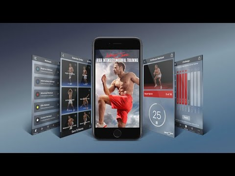 Adrian James High Intensity Interval Training - The number 1 fitness app in over 10 countries!