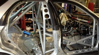 Full Race Roll-Cage - 2005 Subaru WRX Wagon