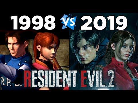 Resident Evil 2 Ремейк против Оригинала / Сравнение