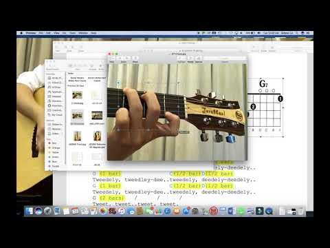 Gideon Lo - Rockin' Robin Guitar Lesson Part 2 (Feat. Jerubbaal Guitar JD30W)