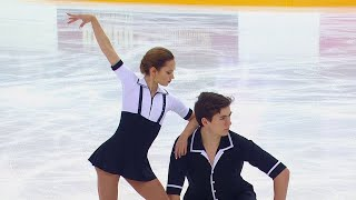Короткая программа Пары Сочи Кубок России по фигурному катанию 2020 21 Третий этап