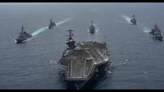 Video US Armada with Two Japanese Destroyers In the Philippine Sea download MP3, 3GP, MP4, WEBM, AVI, FLV April 2017
