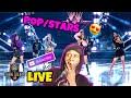 K/DA POP/STARS ((G)I-DLE Medison Beer, Jaira Burns) MV & (LIVE) REACTION !!