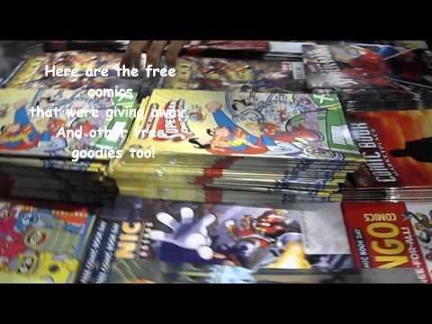 Free Comic Book Day 2012 In Comic Odyssey Robinson's Galleria