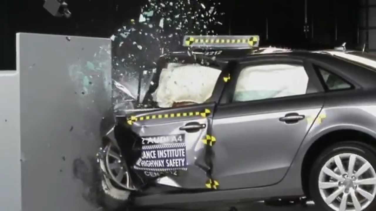 CRASH TEST IIHS: 2012 Audi A4 Small Overlap Test (Overall evaluation