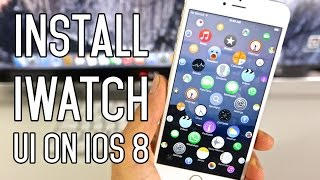 Install Apple Watch UI on iPhone, iPad & iPod Touch - Super Cool!
