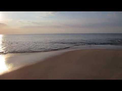 Rehoboth Beach Delaware summer sunrise over the Atlantic Ocean USA