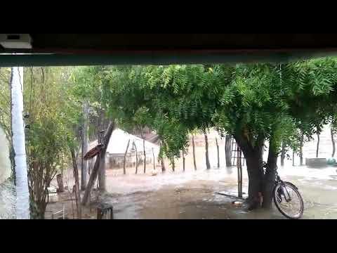 Chuva forte sitio Quixaba governador dix sept rosado RN dia 09 01 2020