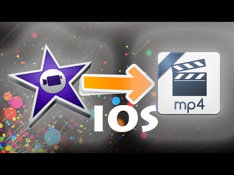 How to Export In MP4 from IMOVIE on a IOS device!! (iPad & iPhone)