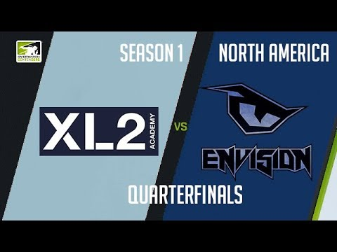 XL2 Academy vs EnVision eSports (Part 1) | OWC 2018 Season 1: North America [Quarterfinals]