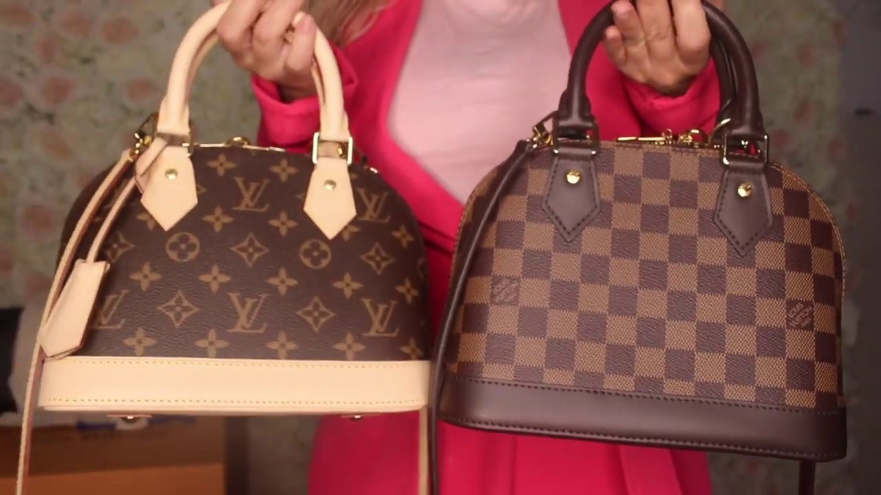 Louis Vuitton Alma Bb Monogram Unboxing Youtube