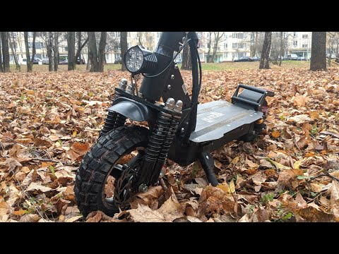 Мощный внедорожный электросамокат! HUNTERSRT 01 SPORT 52V / Арстайл /