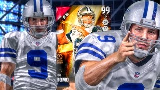 99 GOLDEN TICKET ROMO! MUT SALARY CAP RANKED! Madden 16 Ultimate Team Gameplay Ep. 47
