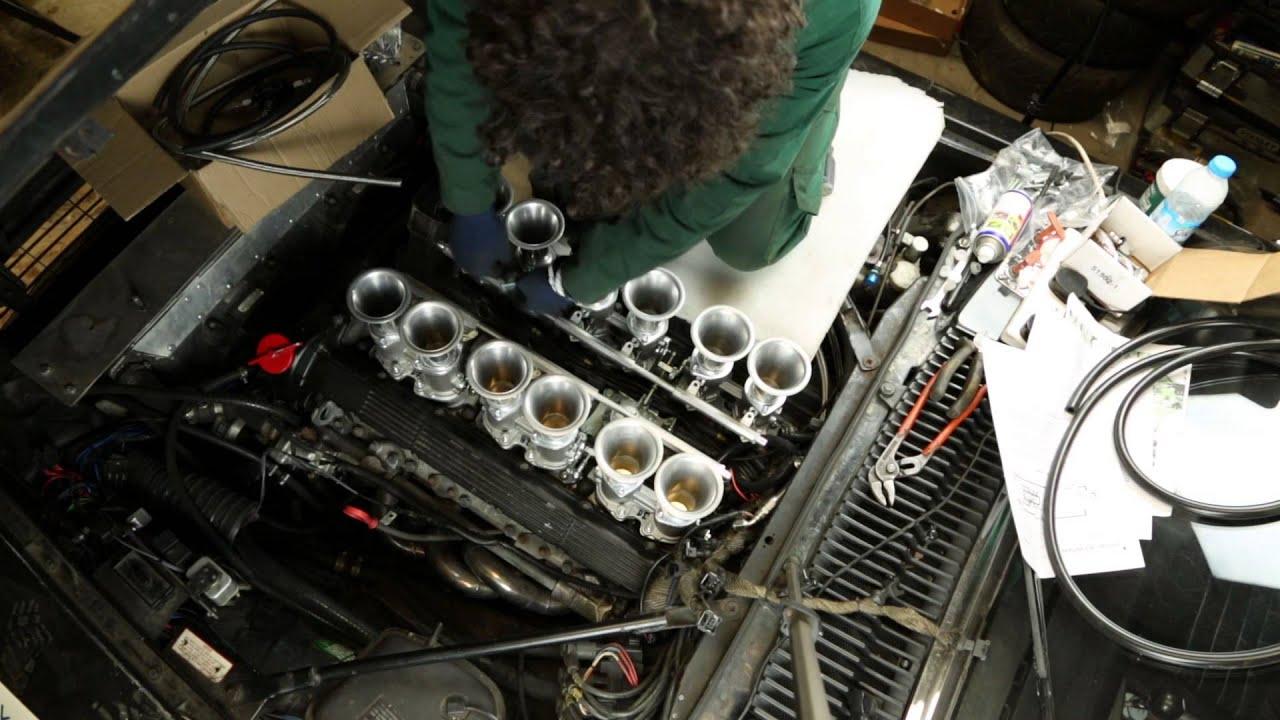 Fitting Throttle Bo S To The Black Pearl Jaguar Xjs V12