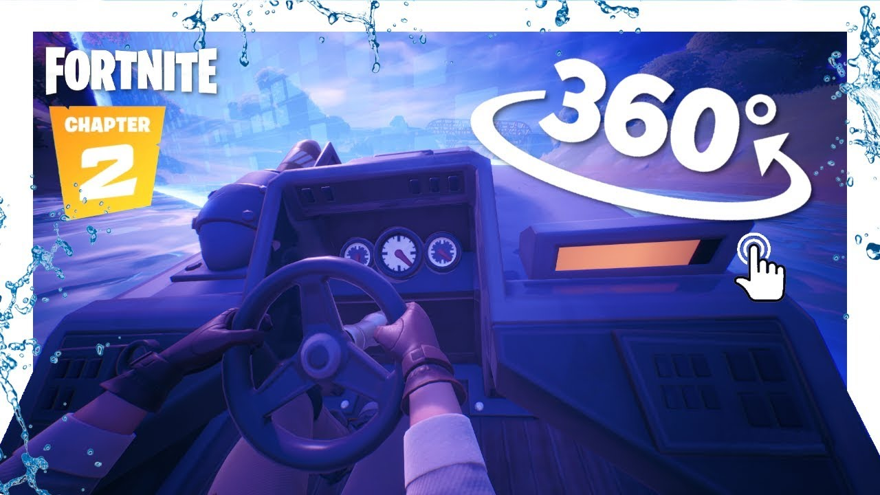 Running From The Storm On A Boat In Vr Fortnite Chapter 2 360 Experience