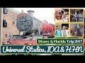 Walt Disney World & Orlando Vacation Vlog #8   Universal Studios, IOA & HHN   KrispySmore Sept 2017