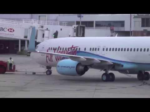 Air Vanuatu Ground Movements 737-800 Melbourne Airport YJ-AV1