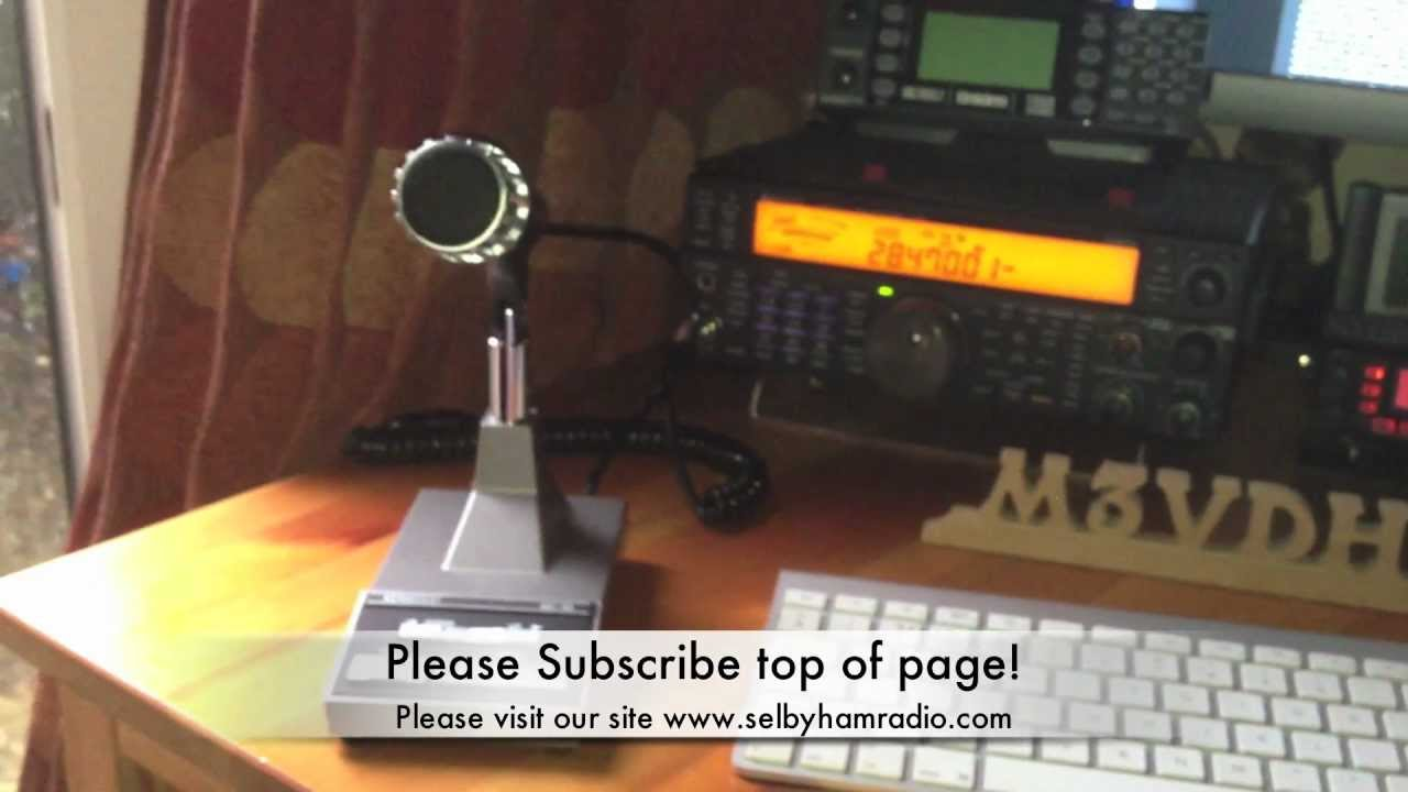 hight resolution of action in the radio shack m3vdh mc 60 base microphone youtube wiring diagram cb radio mic wiring kenwood mc 60