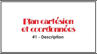 Plan cartesien