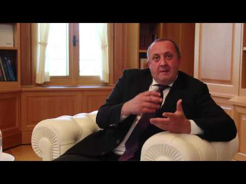 Interview with Giorgi Margvelashvili -- President of the Republic of Georgia