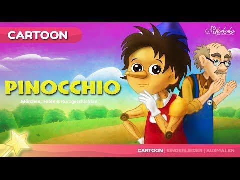 Pinocchio Gute Nacht Geschichte | Märchen für Kinder | Animation HD auf Deutsch