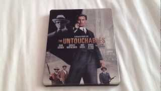 The untouchables UK Blu-ray steelbook unboxing