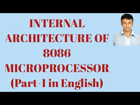 Internal Architecture Of 8086 Microprocessor Part 1 In English Youtube