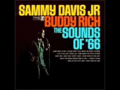 Sammy Davis Jr Buddy Rich Sammy Davis Jr Y Buddy Rich