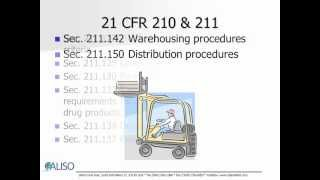 Pharmaceuticals FDA GMP Overview (21CFR211)