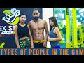Types Of People In Gym | Boys vs Girls | Sanju Sehrawat | Make A Change