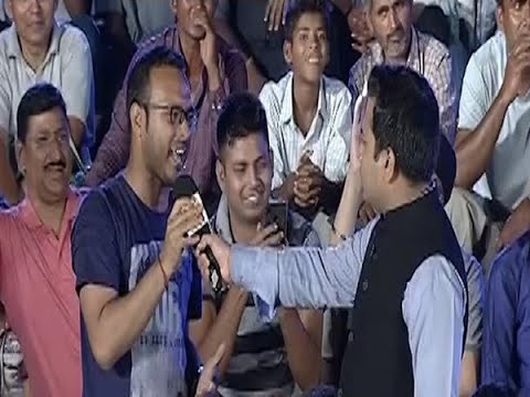 ABP Exit Poll: एग्जिट पोल के नतीजों को लेकर दिल्ली के कनॉट प्लेस पर जनता और नेताओं के बीच खुली चर्चा