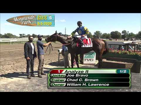 video thumbnail for MONMOUTH PARK 09-05-20 RACE 5 – THE RED BANK STAKES