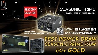 Seasonic Prime 750Watt 80+ Gold