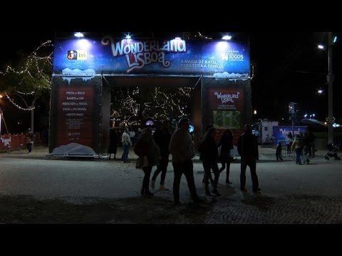Mercado de Natal leva milhares de pessoas ao Parque Eduardo VII