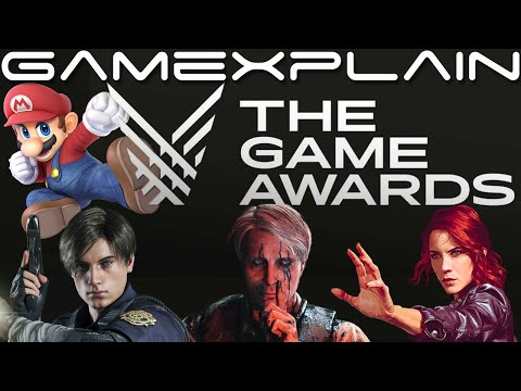 The Game Awards 2019 Nominees Revealed (Smash Bros. Ultimate Up For Game Of The Year!)
